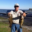 Chuck W. at Oneida Lake, 10/13/13