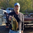 Glenn P. at Oneida Lake, 10/13/13