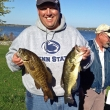 John W. at Oneida Lake, 10/13/13