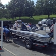 Weigh-In at Blue Marsh Lake,  8/17/14