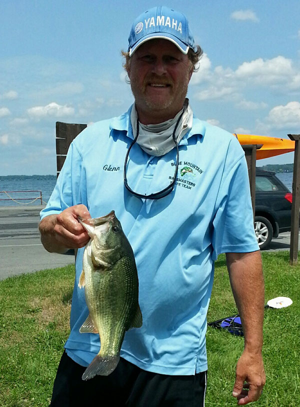 Glenn at Cayuga Lake,  7/19/14