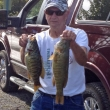 Joe at Lake Oneida, 9/28/14